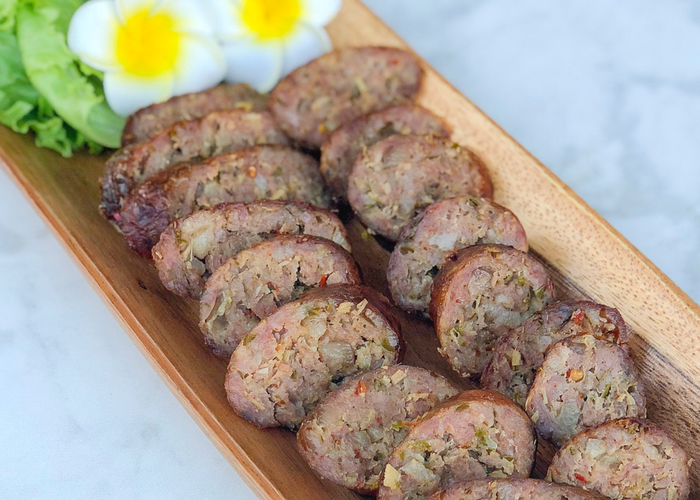 Spicy lao sausage jenuine cuisine spicy lao sausage forumfinder Image collections